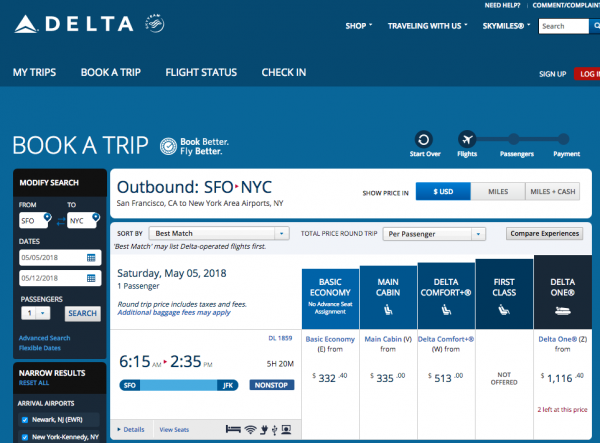 Delta Travel Insurance - Economy Options | AardvarkCompare.com