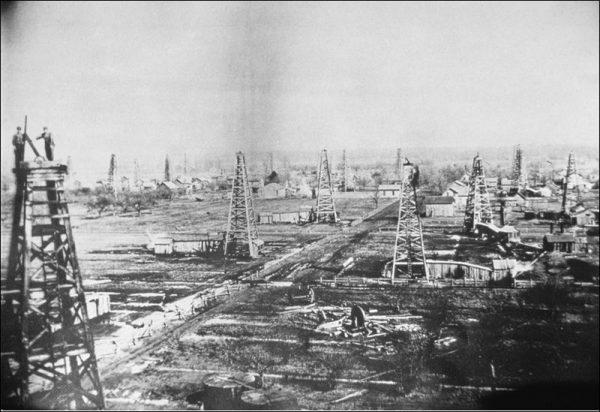 Oilfields Ohio