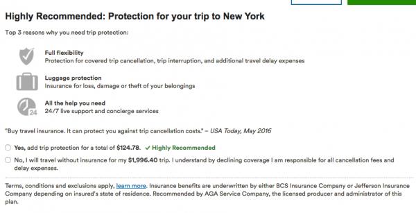 Alaska Airlines Travel Insurance - $125 | AardvarkCompare.com
