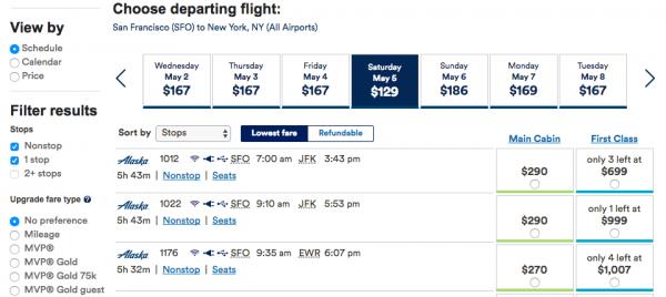 Alaska Airlines Travel Insurance - Flight Grid Non-Refundable | AardvarkCompare.com