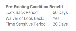 Pre Existing Medical Condition Holiday Insurance - Look Back and Waiver | AardvarkCompare.com