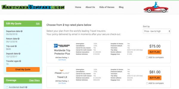 Air China Travel Insurance Cancel for Any Reason   AardvarkCompare.com