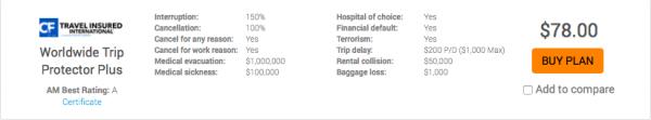 Air Canada Travel Insurance Aardvark Cancel for Any Reason