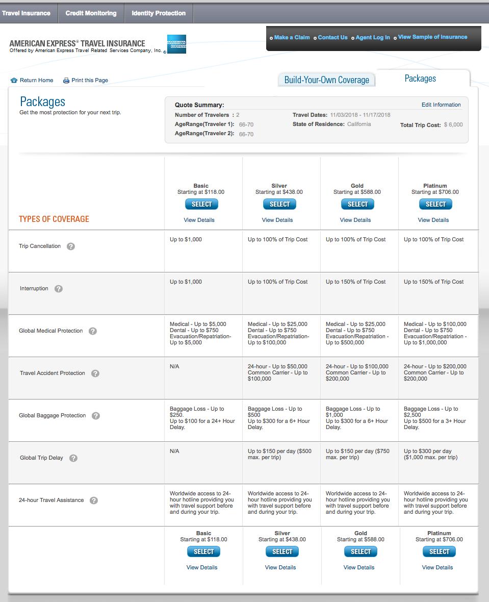 American-Express-Travel-Insurance-6000-Trip | AardvarkCompare.com