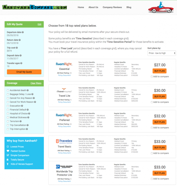 Is Priceline Travel Insurance Good Value? - Company Review