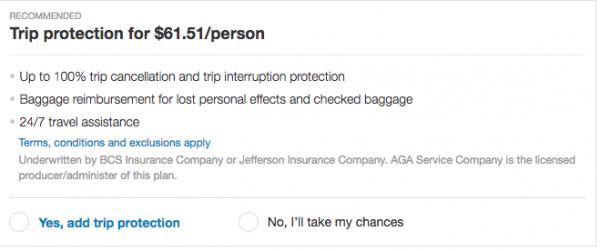Priceline Travel Insurance - International $62 | AardvarkCompare.com
