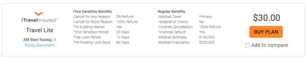 Allianz Travel Insurance Review - iTI Lite | AardvarkCompare.com