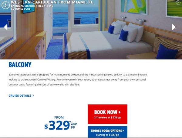 Carnival Cruise Travel Insurance - $329 Plus Taxes | AardvarkCompare.com