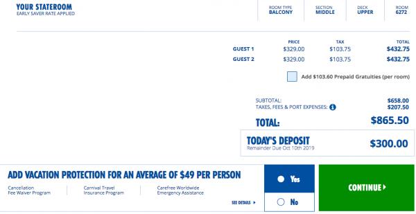 Carnival Cruise Travel Insurance - $98 Travel Insurance | AardvarkCompare.com