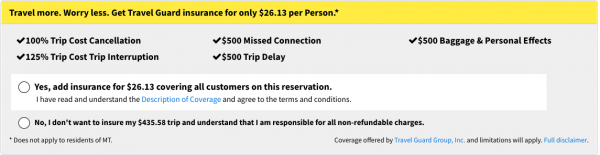 Spirit Travel Insurance - $26 Domestic Travel Guard Option | AardvarkCompare.com