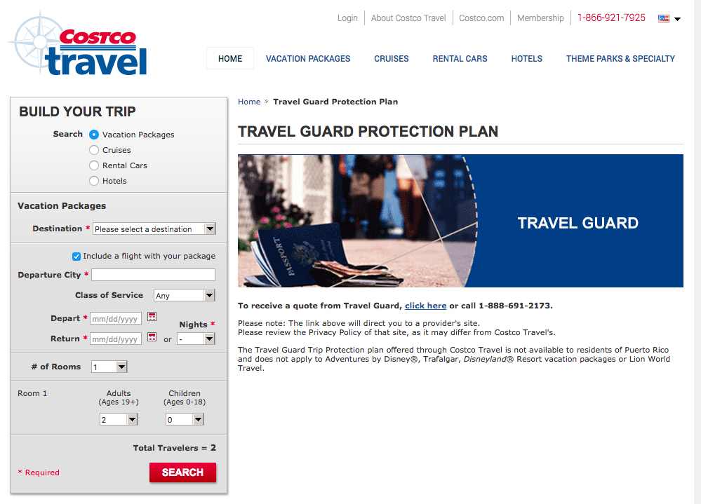 Costco-Travel-Insurance | AardvarkCompare.com