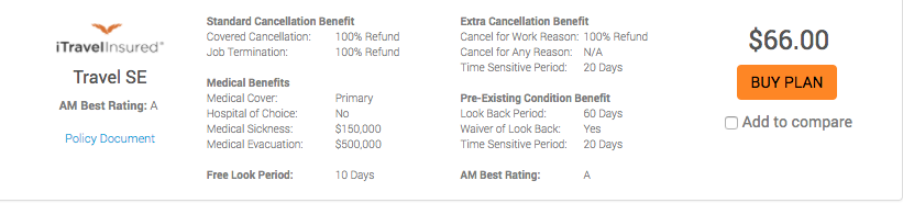 AARP-Pre-Existing-Medical-Condiiton-Travel-Insurance-iTI-Travel-SE | AardvarkCompare.com