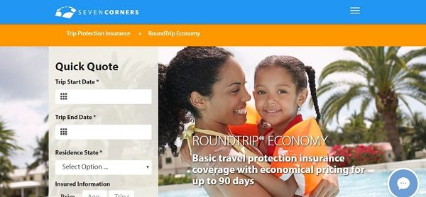 Roundtrip-Economy-Travel-Medical-Insurance-Seven-Corners | AardvarkCompare.com
