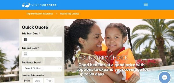 Seven Corners RoundTrip Choice Travel Insurance | AardvarkCompare.com