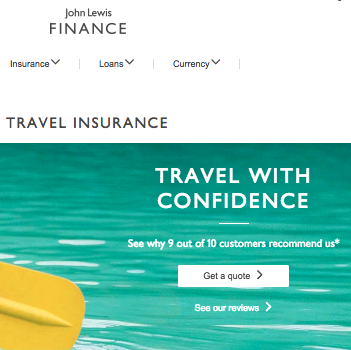 John Lewis Travel Insurance – Company Review