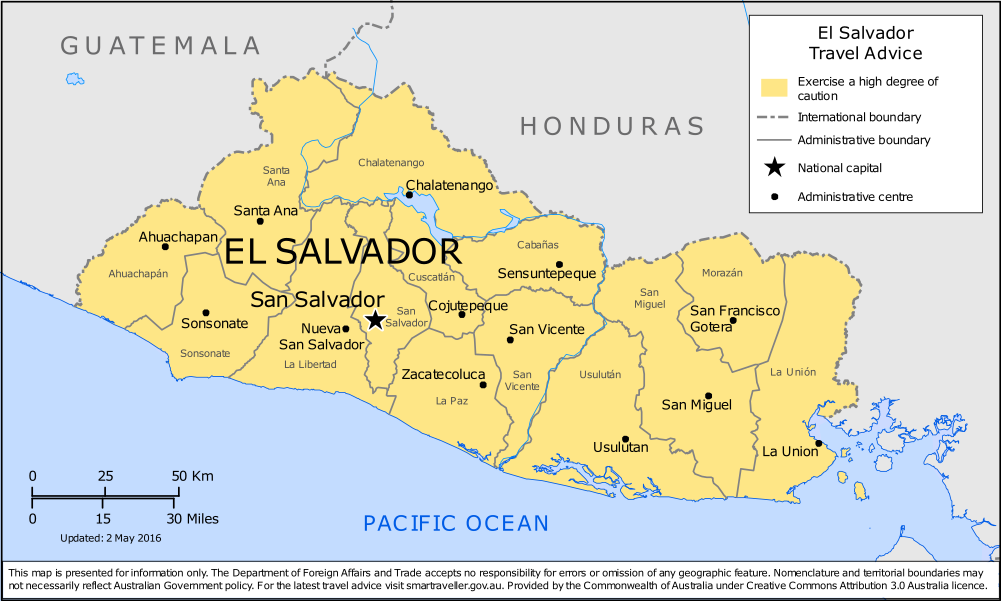 El Salvador Travel Health Insurance - Country Review | AardvarkCompare
