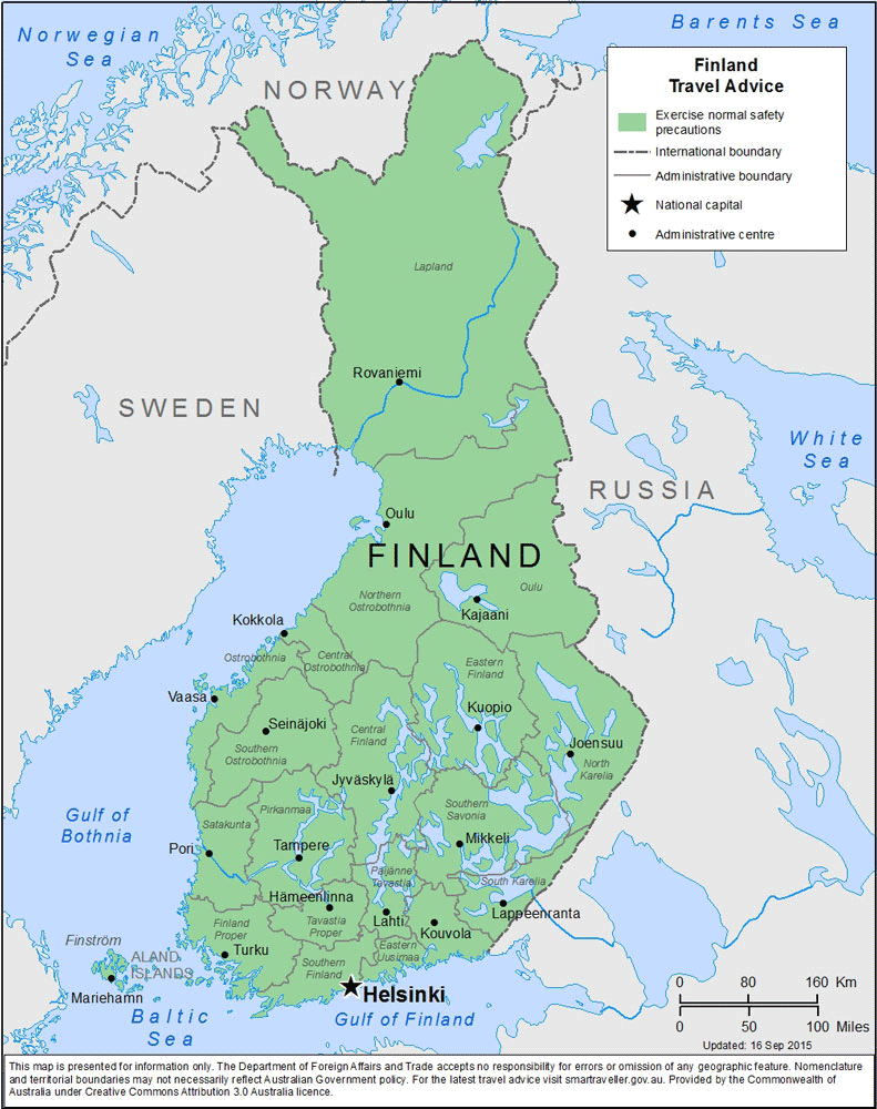 Finland Travel Health Insurance – Country Review