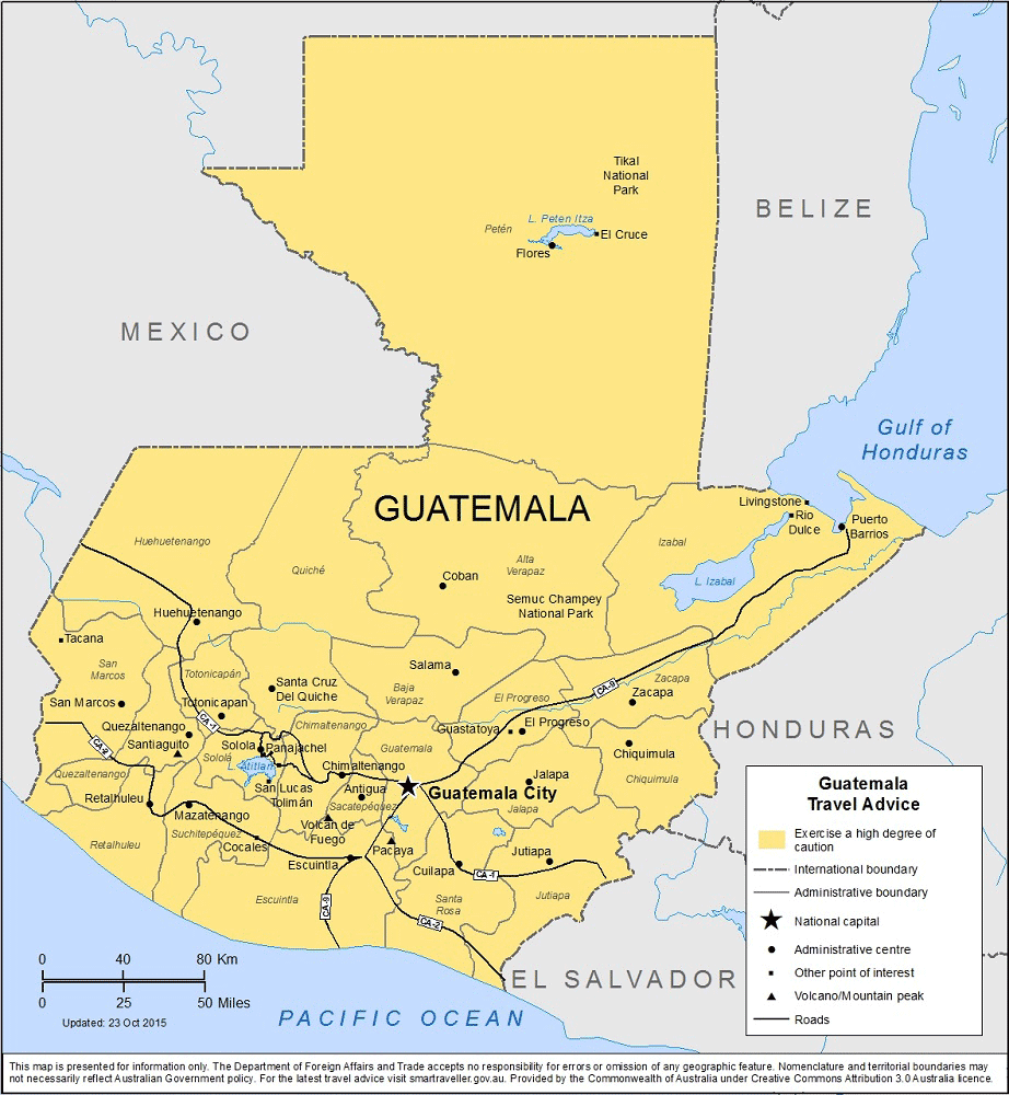 Guatemala Travel Health Insurance – Country Review
