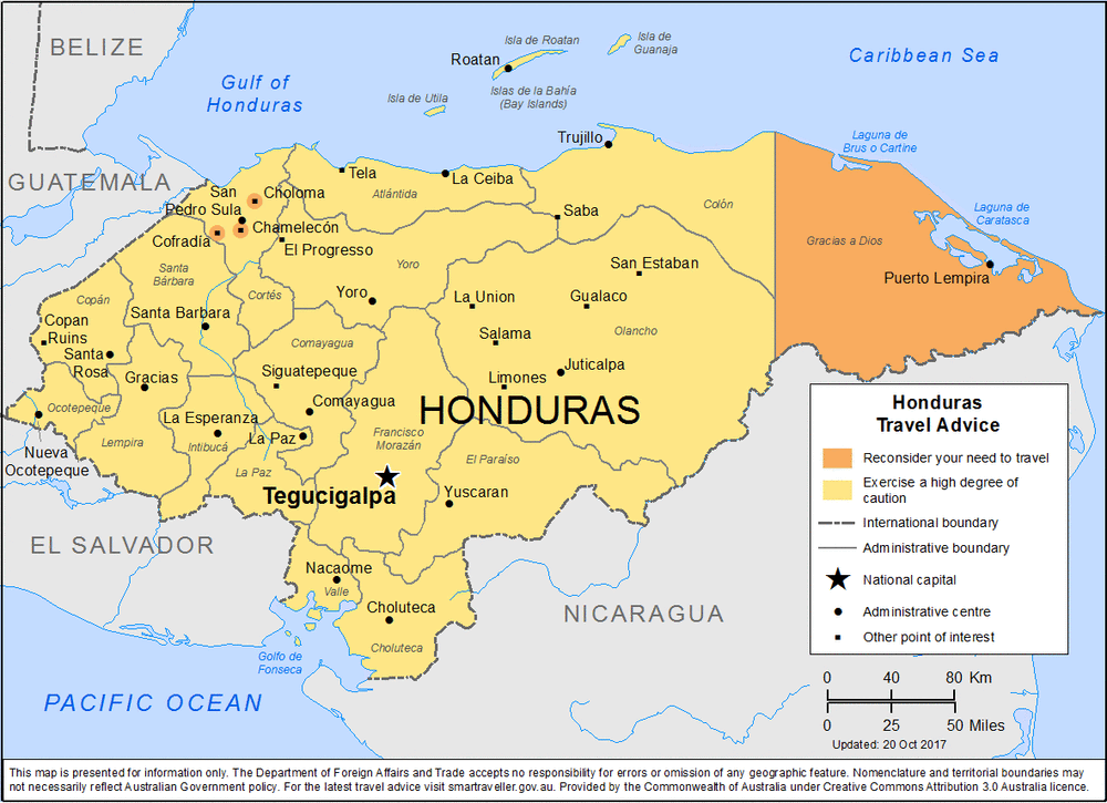 Honduras Travel Health Insurance – Country Review