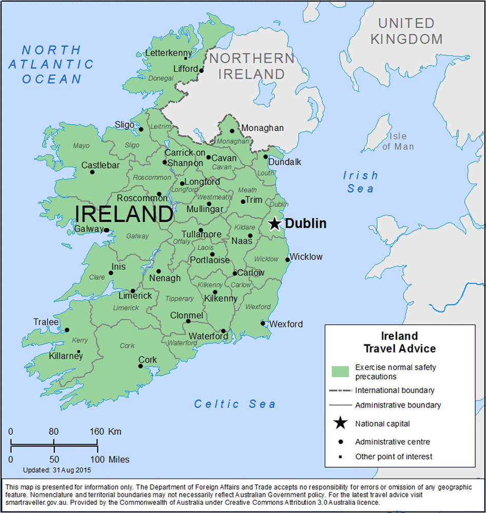 Ireland Travel Health Insurance – Country Review