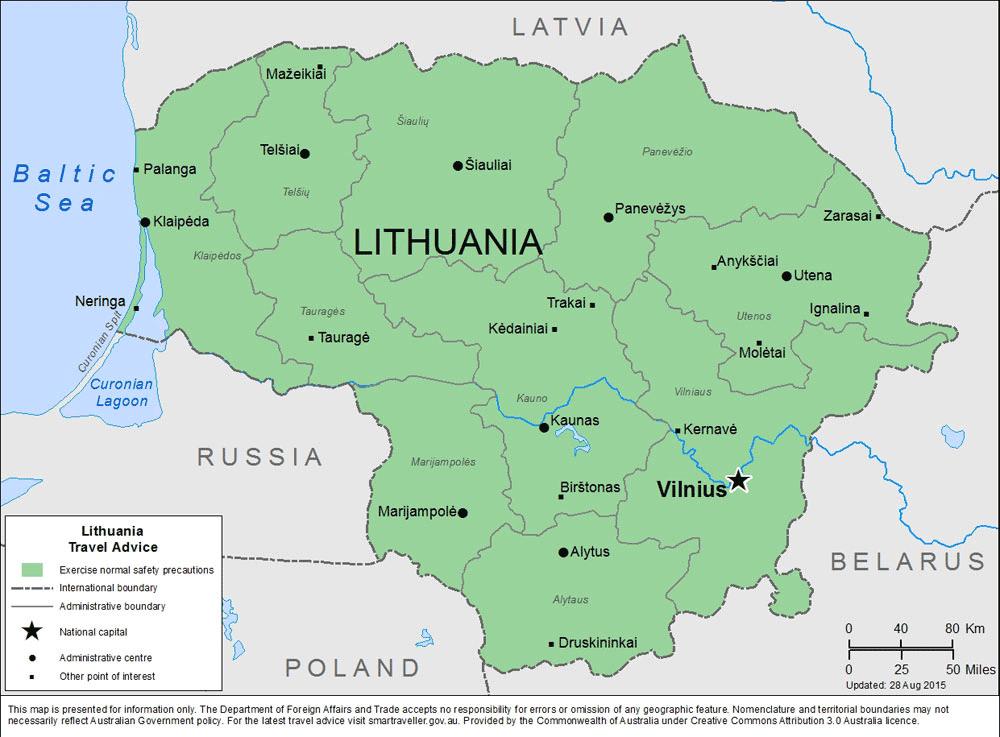 Lithuania-Travel-Insurance | AardvarkCompare.com