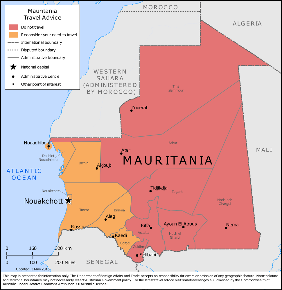 Mauritania Travel Health Insurance – Country Review