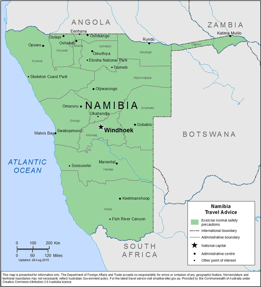 Namibia Travel Health Insurance - Country Review