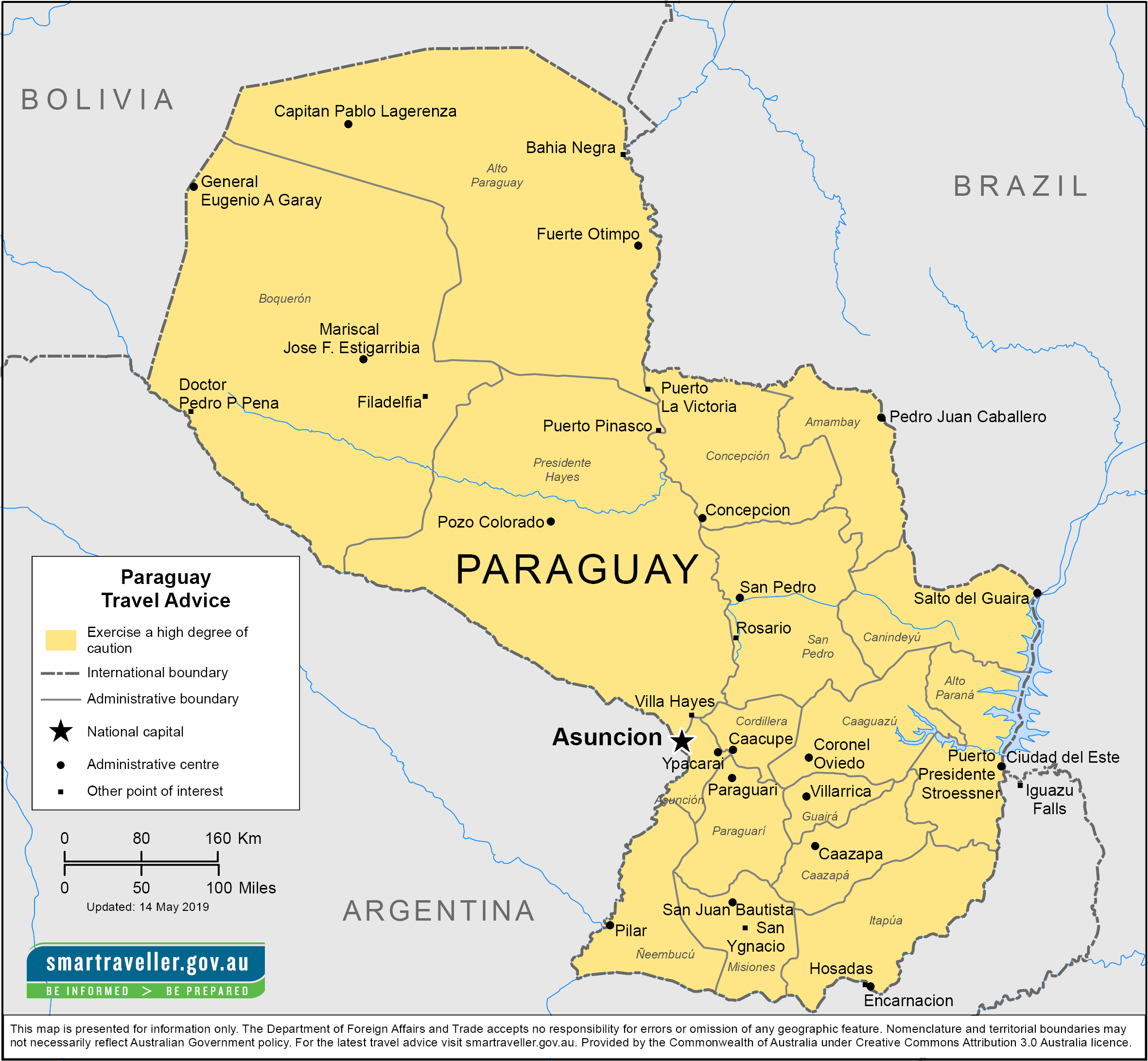 Paraguay Travel Health Insurance - Country Review