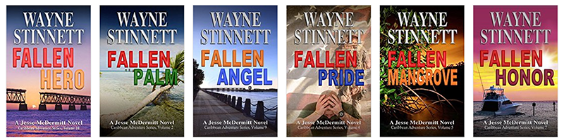 Wayne Stinnett book covers