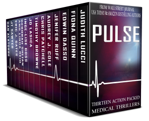 medical thriller book cover