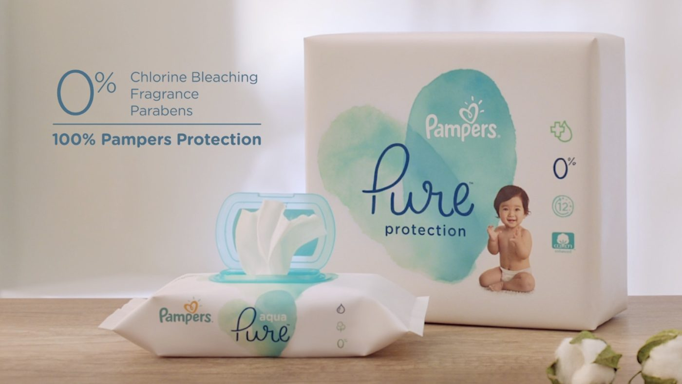 """Pampers Pure """"Scientist"""""""