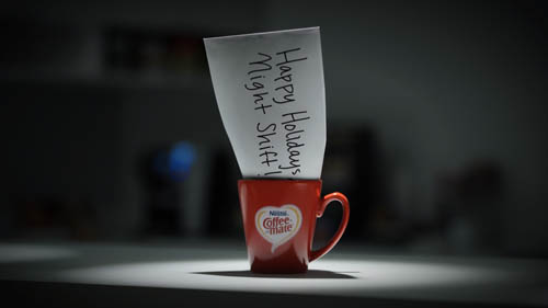 Coffee-mate Brings Home To The Night Shift