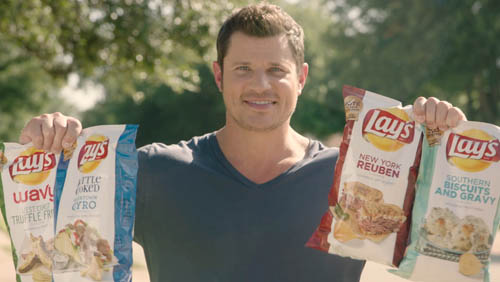 "Lay's & Nick Lachey Reveal ""Do Us A Flavor"" Finalists"