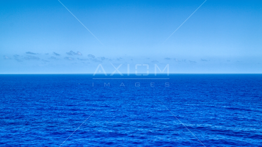 Sapphire blue waters of the Atlantic Ocean  Aerial Stock Photos | AX102_092.0000000F