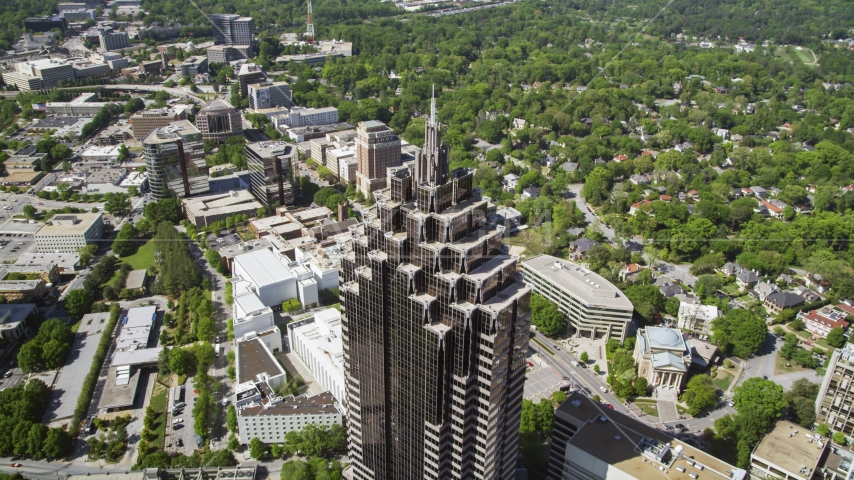 GLG Grand near Promenade II, Midtown Atlanta, Georgia Aerial Stock Photos | AX37_021.0000154F