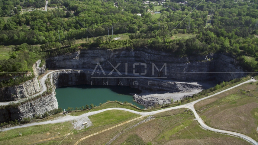 Bellwood Quarry, Atlanta, Georgia Aerial Stock Photos | AX37_087.0000110F