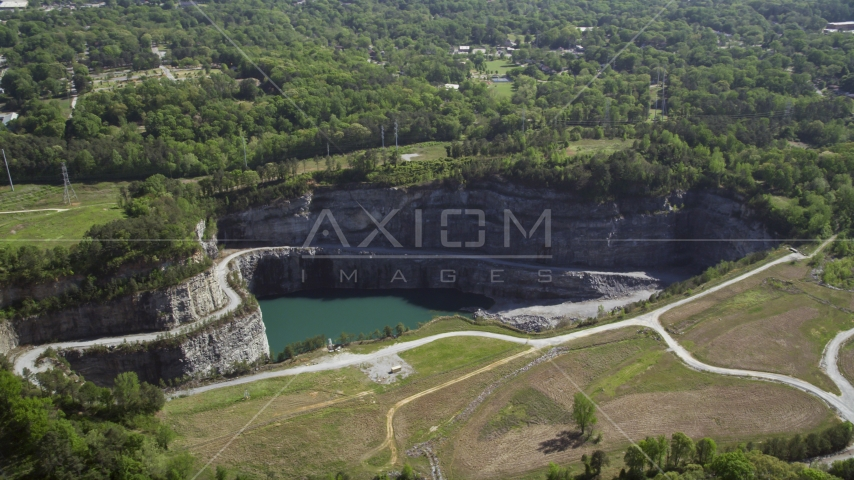 Bellwood Quarry, Atlanta, Georgia Aerial Stock Photos | AX37_088.0000049F