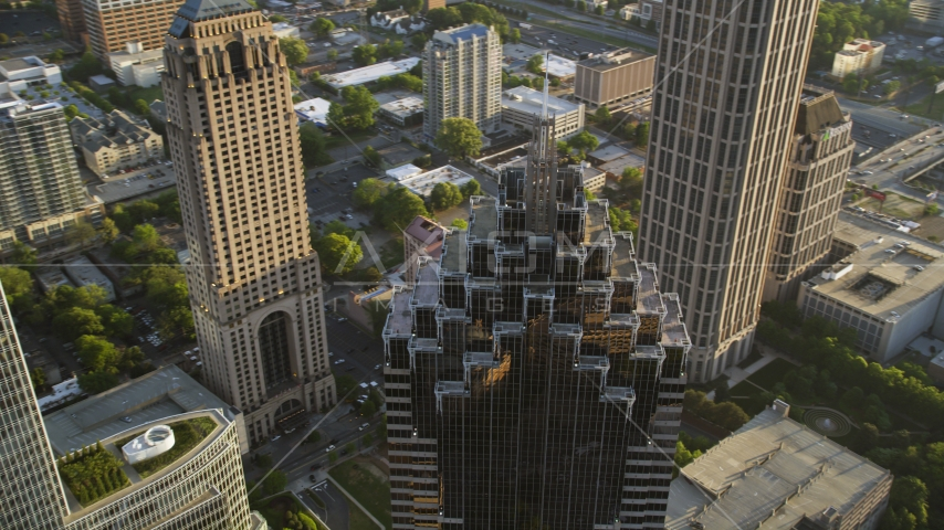 Promenade II, Midtown Atlanta, Georgia Aerial Stock Photos | AX39_055.0000061F