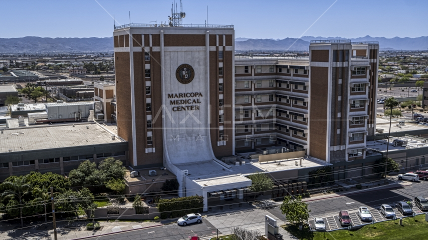 The Maricopa Medical Center in Phoenix, Arizona Aerial Stock Photos | DXP002_140_0003