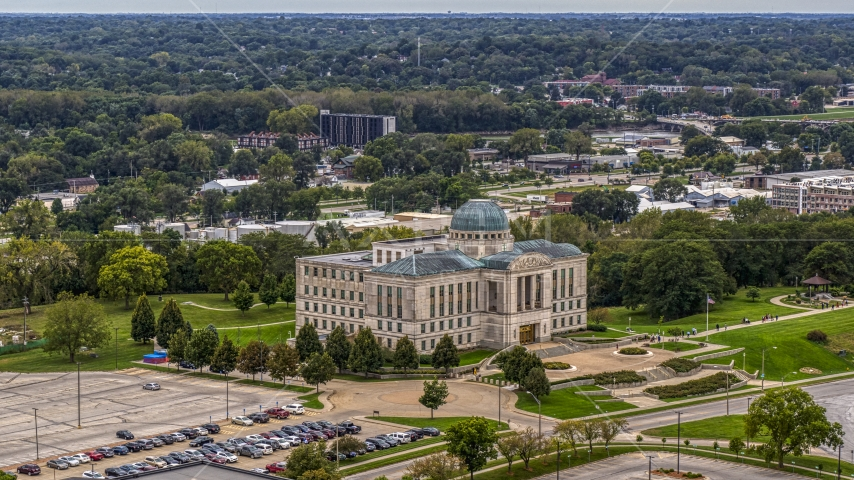 The Iowa Court of Appeals in Des Moines, Iowa Aerial Stock Photos | DXP002_166_0001