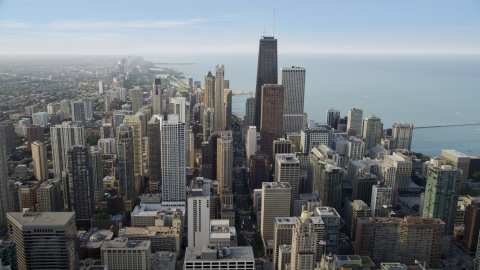 Chicago, IL Aerial Stock Photos