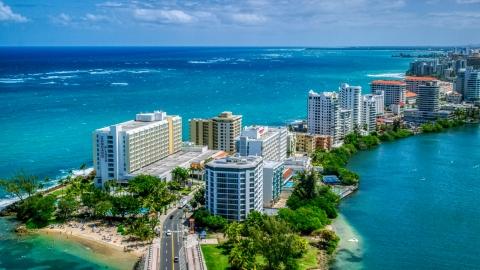 San Juan, PR Aerial Stock Photos