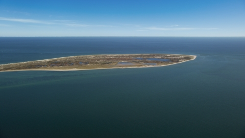 AX144_062.0000000 - Aerial stock photo of Monomoy Island, Cape Cod, Massachusetts