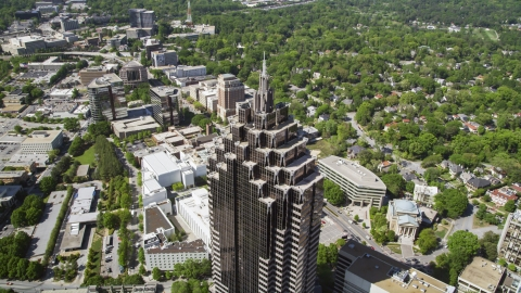 AX37_021.0000154F - Aerial stock photo of GLG Grand near Promenade II, Midtown Atlanta, Georgia