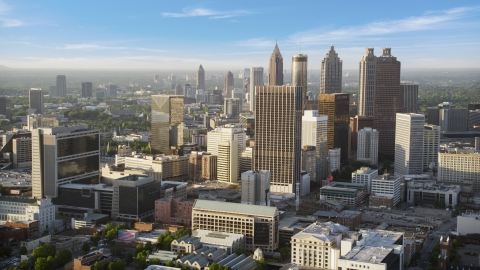 Atlanta, GA Aerial Stock Photos