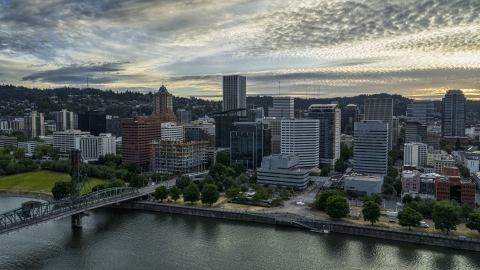 Portland, OR Aerial Stock Photos