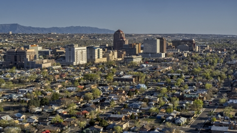 Albuquerque, NM Aerial Stock Photos