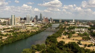 Austin, TX Aerial Stock Footage