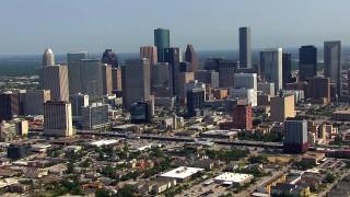 Houston, TX Aerial Stock Footage