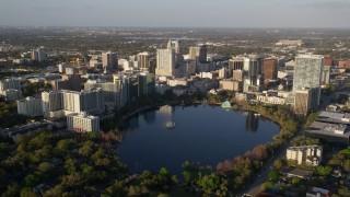 Orlando, FL Aerial Stock Footage